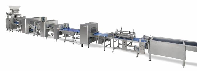 Sheeting Line for bread main