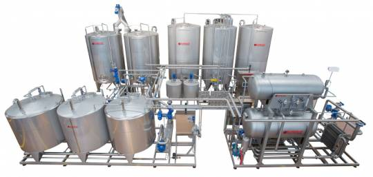 Premix and Syrup room for juice, soft drinks and nectars 227 - Storcan International