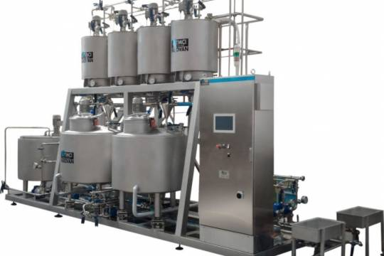 Premix and Syrup room for juice, soft drinks and nectars 229 - Storcan International